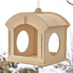 Vogelhaus Futterhäuschen Pavillon-1 von woodeu auf Etsy