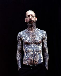 What are you going to do with all those tattoos when you're old? I don't know, get a whole fucking bunch more?!