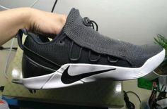 5ac3aacbc32c Check out this Nike Kobe A. NXT in a Dark Grey color scheme.