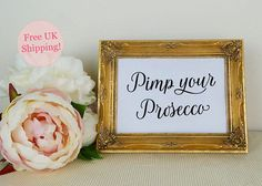 Pimp your Gin Wedding Drinks Sign, Wedding Bar Sign, Modern Calligraphy, Wedding Reception, Wedding Reception Signs, Wedding Reception Tables, Reception Card, Wedding Signage, Wedding Favours, Guest Book Sign, Wedding Guest Book, Gift Table Signs, Drink Signs