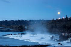 Willamette Falls are more than just the second largest waterfall in the US by volume (behind only Niagara Falls). They are an important part of the history of Oregon City, going back even before the pioneers began settling here. Native American tribes gathered here for centuries and caught lamprey in the falls. The falls later powered the growth of Oregon City and nearby Portland when pioneers harnessed their might to generate electricity.