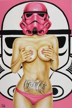 Sexy Stormtrooper by Scott Rohlfs ..Ḻø̸√̸£