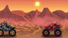 Monster truck - GAMEPLAY. GAME PLAY of the MONSTER TRUCKS racing