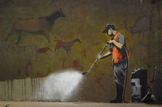 Cave Painting by Banksy