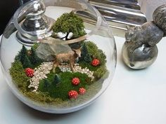 Dekoration wohnung selber machen frühling  DIY: schnelle Frühlings Deko für den Tisch selbst machen | Deko ...
