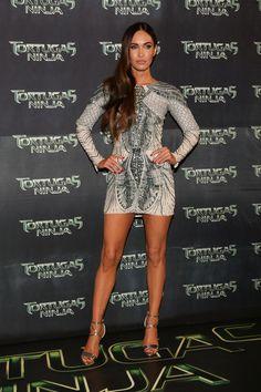 Megan Fox Photos: 'Teenage Mutant Ninja Turtles' Premieres in Mexico City