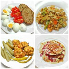 Egy Nap, Health Eating, Light Recipes, Fried Rice, Potato Salad, Clean Eating, Good Food, Food And Drink, Health Fitness