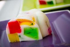 Cómo hacer una gelatina mosaico.