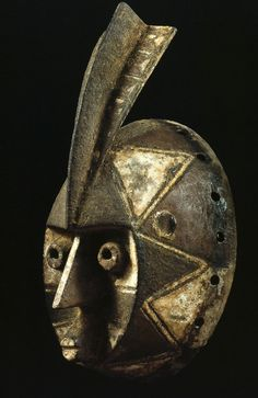 Mossi people, Burkina Faso, Burkina Faso, 0032 Albino Mask -wan-mwegha- or Fula32165 – Art of Burkina Faso