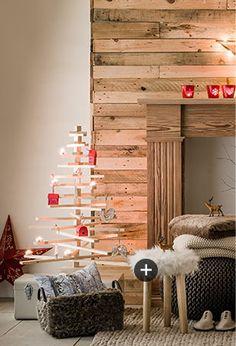Décorations de Noël : Inspiration or & blanc au style contemporain et lumineux, déco scandinave ultra cosy, intérieur élégant, chic et raffiné en noir, blanc & cuivre... un air de fête s'invite dans votre home sweet home !