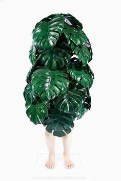 Leaves costume / Se déguiser en feuilles