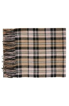 Topshop Plaid Blanket Scarf available at #Nordstrom