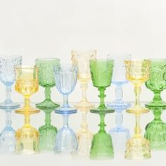 Perfect for a summer cocktail | Glassware by Casa de Perrin