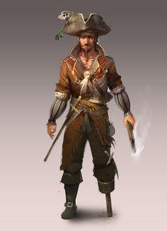 ArtStation - pirate, Vlad Svetlov