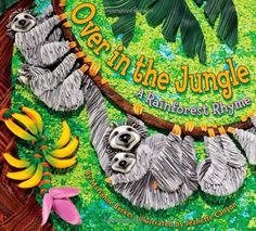 Over in the Jungle: A Rainforest Rhyme by Marianne Berkes, http://www.amazon.com/dp/1584690925/ref=cm_sw_r_pi_dp_3eAxqb0DJQ2ZX
