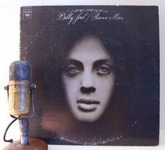 "Billy Joel Vinyl Record Album 1970s Classic Rock and Roll Pop Ballads & Folk Storyteller ""Piano Man""(1976 Cbs re-issue w/'Travelin' Prayer')"