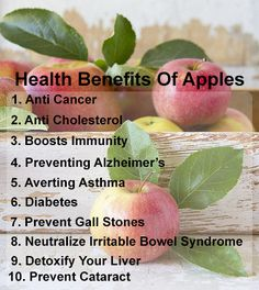Top 10 Health Benefits Of Apples... Hopefully doesn't cause diabetes www.greennutrilabs.com
