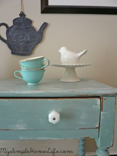 Simple Home Life: Shabby Chic Table