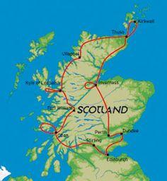 Autorondreis Schotland - Scotland, Far North & Orkney