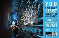 Join the Resistance! Download @Ingress now! #IngressRecruits #fb