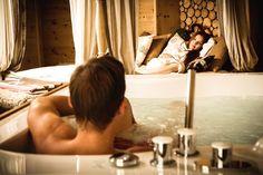 VERWÖHNHOTEL KRISTALL **** - Romantische Zeit erleben  Glanz #leadingsparesort #romantik #tirol #österrich #austria #achensee #panorama # karwendel #shiatsu #massagen #urlaub #pertisau #оздоровительный #австрия Wellness Hotel Tirol, Resorts, Austria, Steam Bath, Vacation Places, Beach Resorts