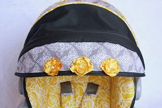 Recovering your Carseat  cover tutorial, this blog is ahh-mazing!!