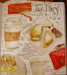 6-22-10 food diary page | Flickr - Photo Sharing!