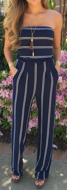 #outfit #ideas / dip dye jumpsuit