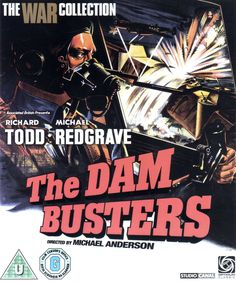 Movie Poster - The Dam Busters - 1954