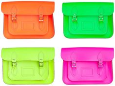 My office bag? You know it! I went for the neon yellow. @sydnesummer this is amazing neon accessory!