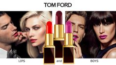TOM FORD Lipstick Collection LIPS AND BOYS Limited Edition Winter 2014.15
