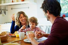 WITH our busy lifestyles, we don't always have time to sit down to a family breakfast. But we can still beat the morning blues with healthy portable breakfasts that you can make ahead or blitz before you rush out of the door. These are great for breakfast or a healthy snack. Breakfast booster bar (Makes […]