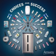 PICK YOUR OWN PATH: Whether it's health, beauty, home or all three, choose the path to success that's best for you. Amway offers more than 450 products with leading brands Nutrilite, Artistry and eSpring – so find a higher quality of life for you and your customers, with a great selection of products.