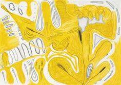 Carroll Dunham.... Love the shape flow and colour...  idea for clay glaze