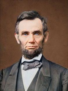 President Abraham Lincoln portrait 1865 # 3 by BJPhotoPrints on Etsy