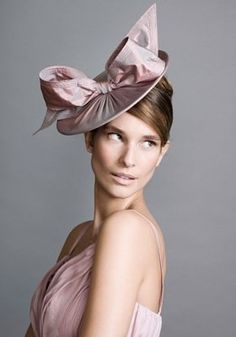ad456577a Dusty pink taffeta disc with bow
