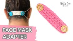 PPE Mask Adaptor Pattern – Bella Coco CrochetCurrently let us be able to crochet Your Confront Disguise Having Filter. I was thinking of which I . Crochet Mask, Crochet Faces, Diy Crochet, Vintage Crochet, Hand Crochet, Easy Face Masks, Diy Face Mask, Easy Knitting Projects, Crochet Projects