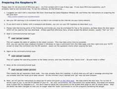David Taylor's website regarding dump1090 and the Raspberry Pi.