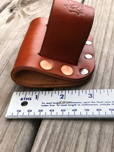 Leather Hammer Holder Low Profile Heavy Duty