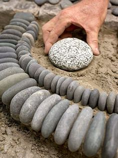 Garden Diy Ideas Using Rocks 5