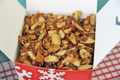 Candied & Spiced Almonds - great in salads!