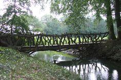 knuppelbrug Garden Bridge, Outdoor Structures