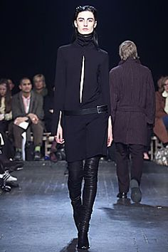 Ann Demeulemeester Fall 2001 Ready-to-Wear Collection Slideshow on Style.com