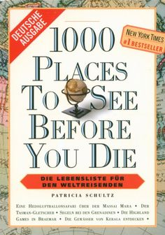 BOOK: 1000 Places To See Before You Die - Australia section mentions some of the places we'll be going :-)