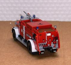 Fire Engine, Model Trains, Fire Trucks, Legos, Scale Models, My Images, Hot Wheels, Engineering, 1
