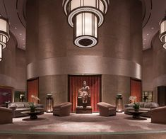Lobby at 5 star hotel: Shangri-La's Far Eastern Plaza Hotel. This hotel's address is: Taipei Metro 201 Tun Hwa S. Road Section 2 106 Da-an District Taipei and have 420 rooms Taipei Metro, Plaza Hotel, Great Hotel, Shangri La, Business Class, Hotels And Resorts, Luxury Hotels, Beautiful Space, 5 Star Hotels