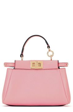 Fendi 'Micro Peekaboo' Nappa Leather Bag available at #Nordstrom