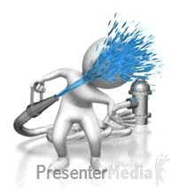 Presenter media powerpoint templates 3d animations and clipart id 20646 drinking water from hose powerpoint animation toneelgroepblik Image collections