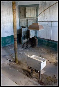 Abandoned Contagious Disease hospital/Asylum/Isolation Ward on Ellis Island