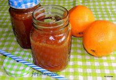 Moje Małe Czarowanie: Lemoniada imbirowo - pomarańczowa